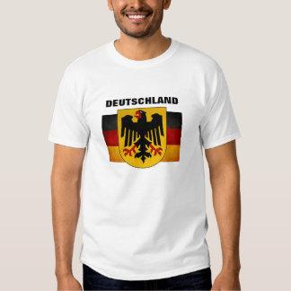 Bandera de Deutschland de la bandera de Alemania Polera