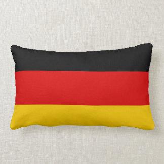 Bandera de Deutschland del alemán de Alemania Cojín Lumbar