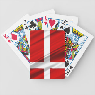 Bandera de Dinamarca Baraja Cartas De Poker