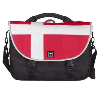Bandera de Dinamarca Bolsas De Portátil