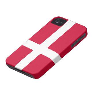 Bandera de Dinamarca Case-Mate iPhone 4 Funda