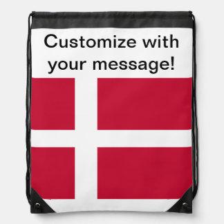 Bandera de Dinamarca Mochila