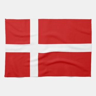 Bandera de Dinamarca Toalla De Mano