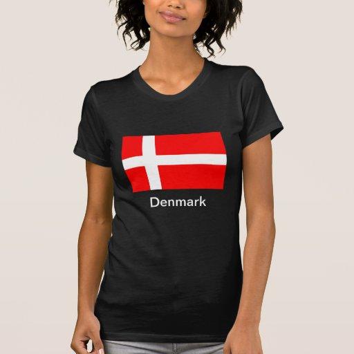 Bandera de Dinamarca Poleras