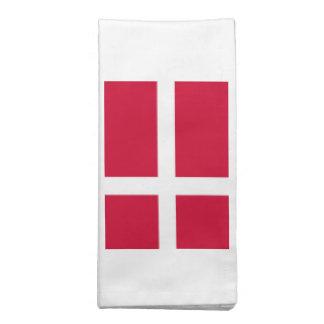 Bandera de Dinamarca Servilletas