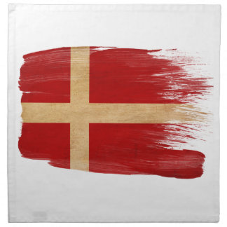 Bandera de Dinamarca Servilletas De Papel