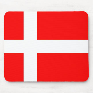 Bandera de Dinamarca Tapete De Ratones