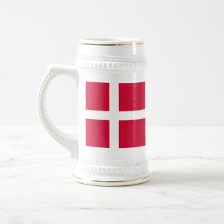 Bandera de Dinamarca Tazas De Café
