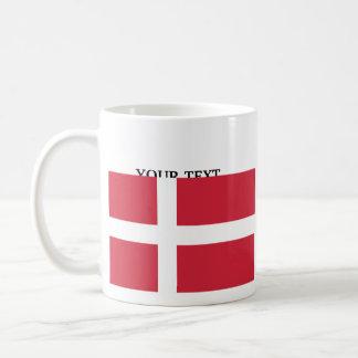 Bandera de Dinamarca Taza De Café