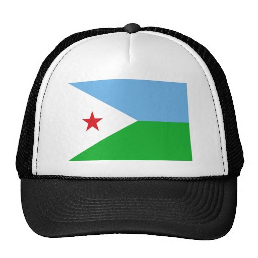 Bandera de Djibouti Gorros