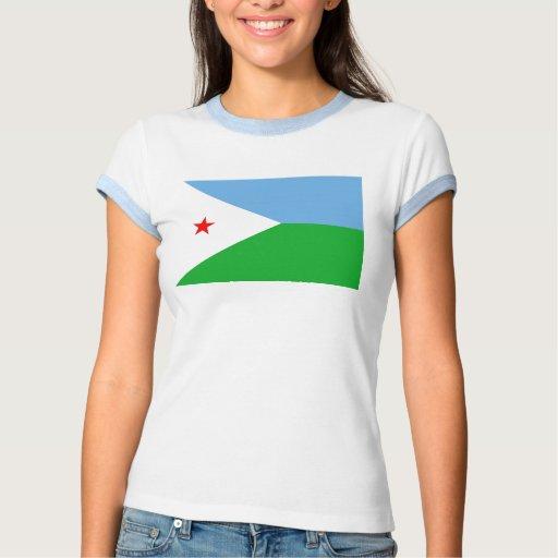Bandera de Djibouti Tee Shirt