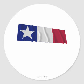 Bandera de Dodson Pegatina Redonda