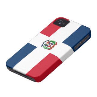Bandera de Dominica iPhone 4 Fundas