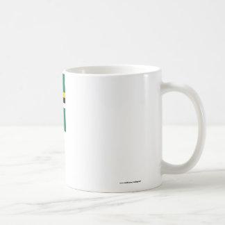 Bandera de Dominica Tazas De Café