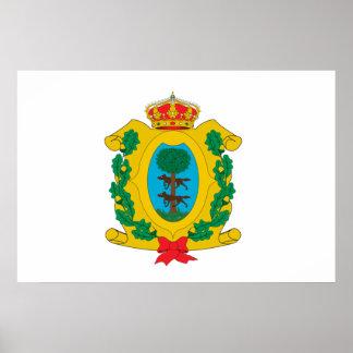Bandera de Durango, México Impresiones