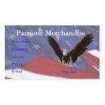 Bandera de Eagle Plantilla De Tarjeta Personal