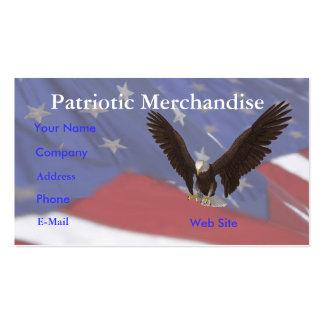Bandera de Eagle Tarjetas De Visita
