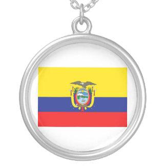 Bandera de Ecuador Colgante Redondo