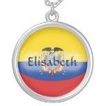 Bandera de Ecuador + Collar conocido