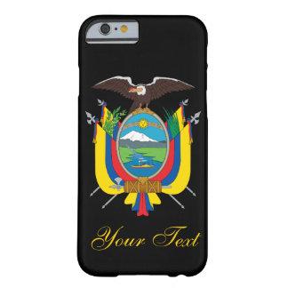 Bandera de Ecuador Funda De iPhone 6 Barely There