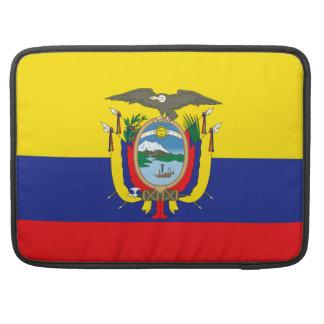 Bandera de Ecuador Fundas Macbook Pro