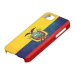 Bandera de Ecuador iPhone 5 Funda