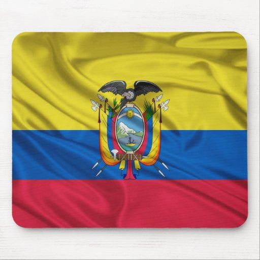 Bandera de Ecuador Mousepad