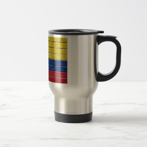 Bandera de Ecuador Taza Térmica