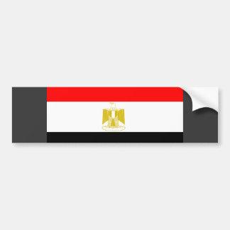 Bandera de Egipto Pegatina De Parachoque