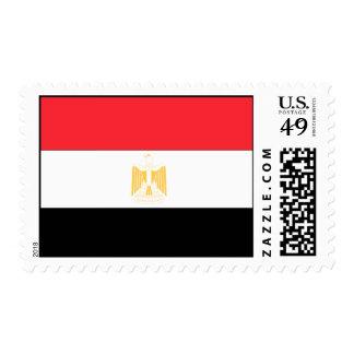 Bandera de Egipto Estampilla