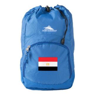 Bandera de Egipto Mochila