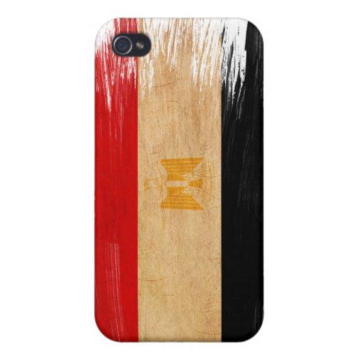 Bandera de Egipto iPhone 4 Protectores
