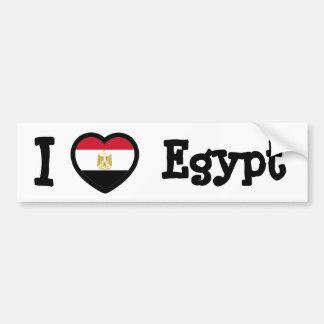 Bandera de Egipto Pegatina Para Auto