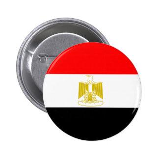 Bandera de Egipto Pin Redondo De 2 Pulgadas