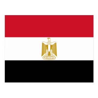 Bandera de Egipto Postales