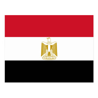Bandera de Egipto Tarjetas Postales