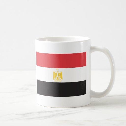 Bandera de Egipto Taza