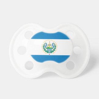 Bandera de El Salvador Chupetes De Bebé