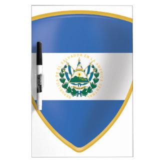 Bandera de El Salvador Dry-Erase Boards