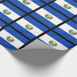 Bandera de El Salvador, escudo de armas nacional Papel De Regalo