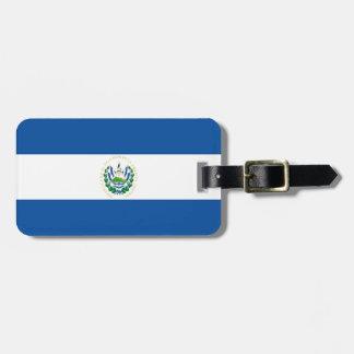 Bandera de El Salvador Etiquetas De Equipaje