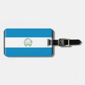 Bandera de El Salvador Etiquetas Bolsas
