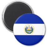 Bandera de El Salvador Iman De Nevera
