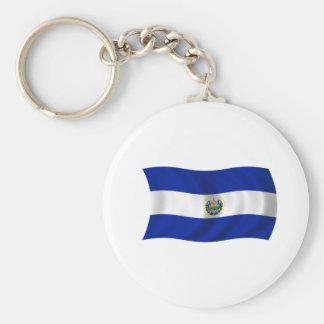 Bandera de El Salvador Llaveros