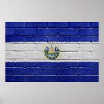 Bandera de El Salvador Poster