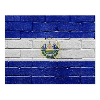 Bandera de El Salvador Postal