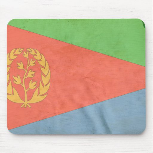 Bandera de Eritrea Alfombrilla De Ratones