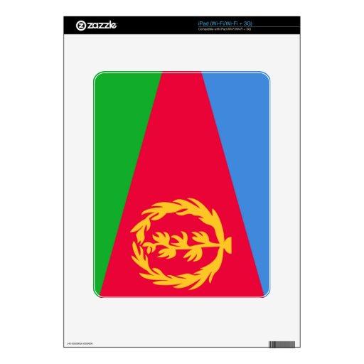 Bandera de Eritrea Calcomanías Para El iPad