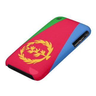 Bandera de Eritrea Case-Mate iPhone 3 Funda