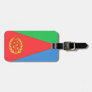 Bandera de Eritrea Etiquetas Maleta